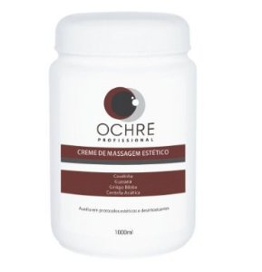 CREME DE MASSAGEM ESTÉTICO 1000ML OCHRE