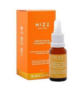 SÉRUM FACIAL VITAMINA C 20% MIZZ