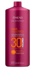 ÁGUA OXIGENADA ESTABILIZADA CREMOSA 950ML AMEND 30 VOLUMES - 9%