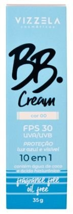 BB CREAM FPS 30 COR 00 VIZZELA