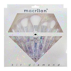 KIT DE PINCÉIS DIAMOND MACRILAN