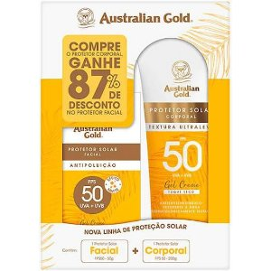 KIT PROTEÇÃO FPS50 AUSTRALIAN GOLD
