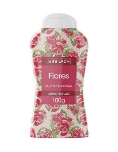 TALCO FLORES 100G VINI LADY