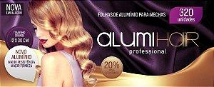 FOLHAS DE ALUMÍNIO PARA MECHAS 320 FOLHAS ALUMIHAIR