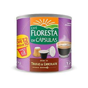 Cápsulas Café Floresta Aromas Trufas de Chocolate 12 un (compatível com máquinas Nespresso)