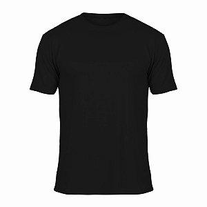 Camisa Preta c/ Bordado no Peito