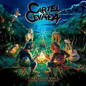 CD - Cartélico Vol.1 Fronteira, Trago e Querência