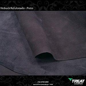 Nobuck Refulonado Preto