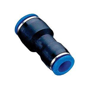 União Tubo com Redução Engate Rápido Pneumático de 4 à 16mm
