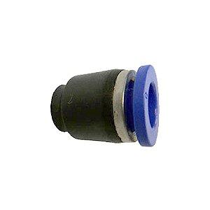 Tampão Curto Tubo Engate Rápido Pneumático de 4 à 16mm
