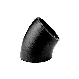 Conexão Tubular Curva 45° Aço Carbono Schedule 40 80 160 ASTM A234