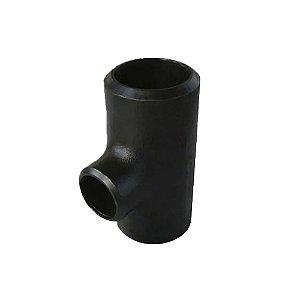Conexão Tubular TEE Redução Aço Carbono Schedule 40 80 160 ASTM A234