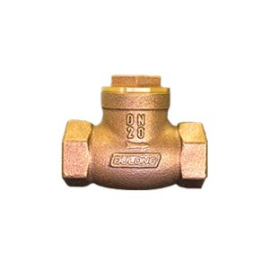 """Válvula de Retenção Horizontal Tipo Disco Bronze de 1/2"""" à 4"""""""