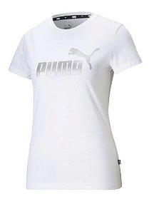 Camiseta Puma Ess+ Metallic Logo Tee 586890-02
