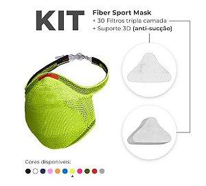 Kit Mascara Fiber Sport Z754-0915 V. Limão