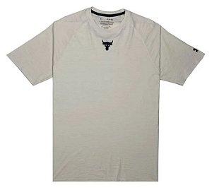 Camiseta Under Armour Project Rock 1356764-110 Smwblk
