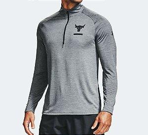 Camiseta Under Armour M/L Project Rock 1345822-012 Pglhbk