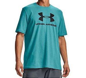 Camiseta Under Armor Sportstyle Log 1359394-476 Cmsblk