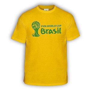 Camiseta Fifa Official Copa 2014 Emblem Landscape 14396-0k2