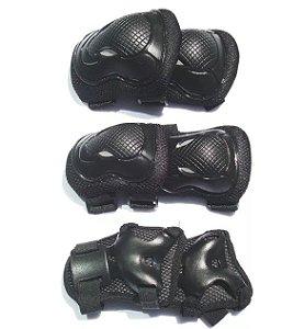 Kit Hyper Sports Protetor Skate Wpd-221
