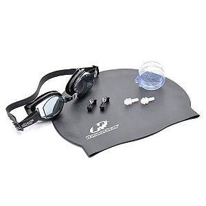 Kit Hammerhead F Scherer Set Touca+Óculos+P. Ouvido 051