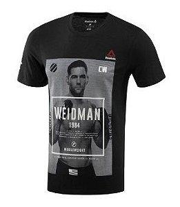 Camiseta Reebok Ufc Weidman Ah7506