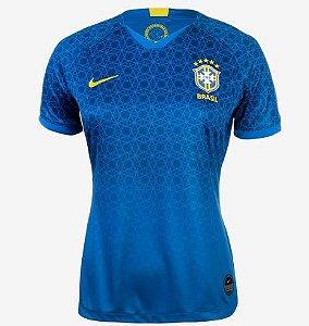 Camisa Nike Brasil Cbf II 2018/19 Torcedora Aj4389-453