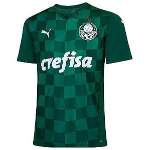 Camisa Puma Palmeiras Home Jsy 21 705181-01
