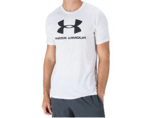 Camiseta Under Armour SS Logo Ubmst96802 Whtblk