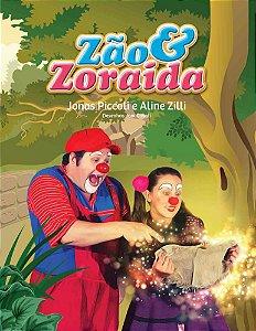 Livro Zão e Zoraida em Mapa para Brincar
