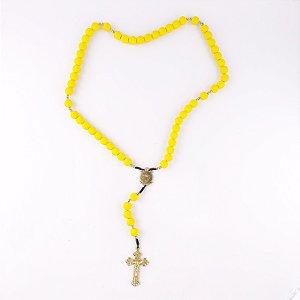 Terço Acampamento Cruz Sagrada Amarelo