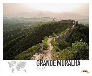 Pôster Grande Muralha - China - 70cm x 60cm