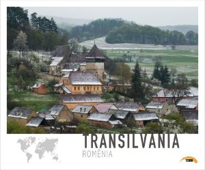 Pôster Transilvânia - Romênia - 70cm x 60cm