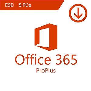 MICROSOFT OFFICE 365 2020 VITALÍCIO – 5 LICENÇAS (PC, MAC, ANDROID OU IOS) + 1 TB DE HD VIRTUAL – DOWNLOAD