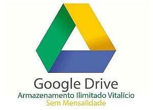 GOOGLE DRIVE VITALÍCIO ARMAZENAMENTO ILIMITADO - ADICIONADO A SUA CONTA EXISTENTE