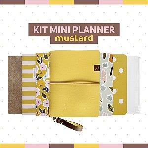Kit Mini Planner Mustard