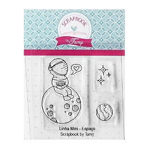 Kit de Carimbos Mini Espaço Scrapbook by Tamy - Lilipop