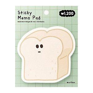 Post-it Sticky Memo Pad Pão de Forma Verde - Artbox