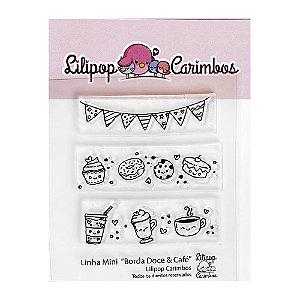Kit de Carimbos Bordas Doce e Café - Lilipop