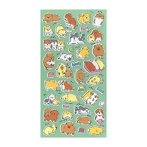 Adesivo Divertido Papel - Filhotes de Cachorro Mw Seals
