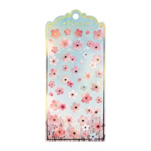 Adesivo Divertido Papel - Flores de Cerejeira Nekoni Sakura