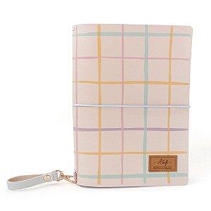 Capa Pink Plum Candy (Para 4 Blocos) Para Planner Padrão A.Craft
