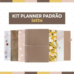 Kit Planner Padrão Latte