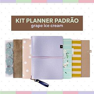 Kit Planner Padrão Grape Ice Cream