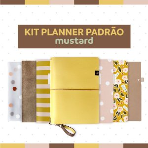 Kit Planner Padrão Mustard