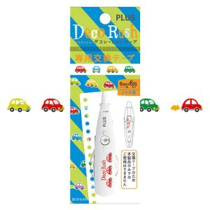 Refil - Fita Decorativa Deco Rush - Carros - DC-016-47R Plus Japan