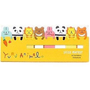 Post-it Stick Marker Yuru Animal - Amarelo