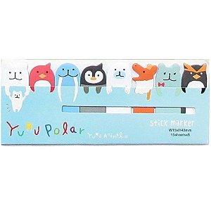 Post-it Stick Marker Yuru Polar - Azul Claro