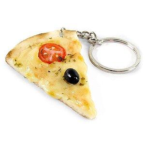 Chaveiro Comidinhas - Pizza de Mussarela