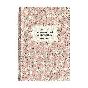 Agenda Permanente (Sem Data) Planner C'est Une Belle Journée Floral Rosa - Artbox